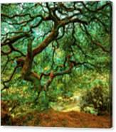 Particle - Plant 20 Canvas Print