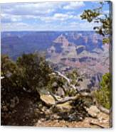 Partly Cloudy - Grand Canyon Canvas Print