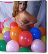 Party Balloon Canvas Print