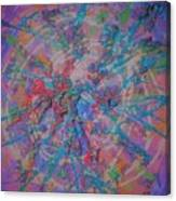 Party Burst Canvas Print
