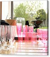 Party Drinks Canvas Print