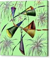 Party Hat Abstract  Canvas Print