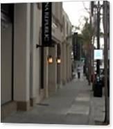 Pasadena Sidewalk 1093 Canvas Print