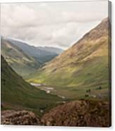 Pass Of Glencoe II Canvas Print