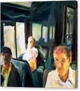 Passenger Train Canvas Print