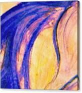 Passing Purple Canvas Print
