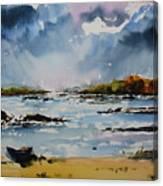 Passing Storm At Lahinch Canvas Print