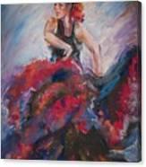 Passionate Flameco 2 Canvas Print