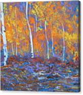 Passions Of Fall Canvas Print