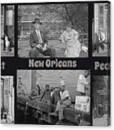 Past New Orleans People Canvas Print