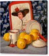 Past Teatime Canvas Print