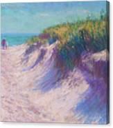 Past The Dunes Canvas Print