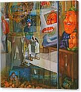 Past Waiting Canvas Print