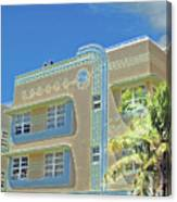 Pastel Hotel Canvas Print