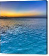 Pastel Ocean Canvas Print