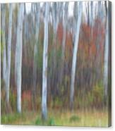 Pastel Tree Abstract Canvas Print