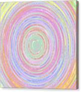 Pastel Whirlpool Canvas Print