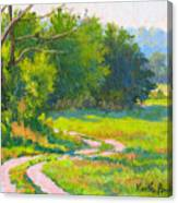 Pasture Road Canvas Print