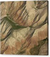 Pastures And Valleys Canvas Print