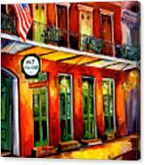 Pat O Briens Bar Canvas Print