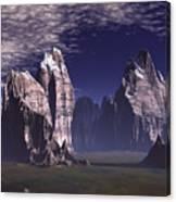 Patagonian Mountain  Canvas Print