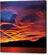 Patagonian Sunrise Canvas Print