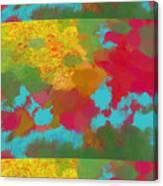 Patchwork Landscape Canvas Print