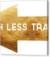 Path Less Traveled-  Art By Linda Woods Canvas Print