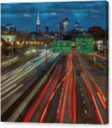Path To And From Nyc Canvas Print