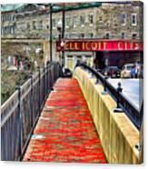 Path To Ellicott City Canvas Print