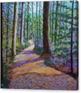 Path To Hubbards Farm Market Canvas Print