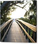 Path To Marco Island Beach Canvas Print