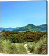 Footpath To Nestucca River Canvas Print