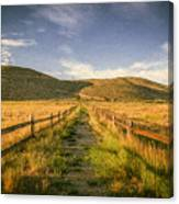 Path To Nowhere Canvas Print