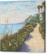 Path To Ritz Bacara  Canvas Print