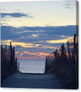 Path To Tranquility Canvas Print