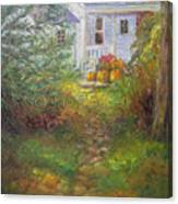 Pathway From The Treehouse Canvas Print