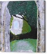 Pathway To Peacefullness Canvas Print