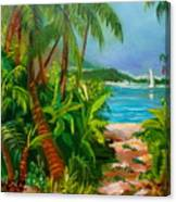 Pathway To The Beach Canvas Print