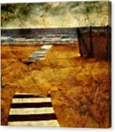 Pathway To The Sea II Canvas Print