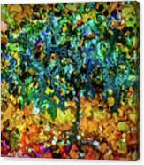 Patinatree Canvas Print