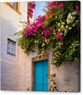 Patmos Bougainvillea Canvas Print