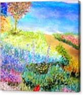 Patricia's Pathway Canvas Print