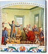 Patrick Henry, First Continental Canvas Print