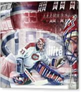 Patrick Roy Montreal Canadiens Canvas Print