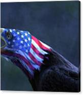 Patriot Eagle Canvas Print