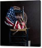 Patriotic Decor Canvas Print