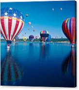 Patriotic Hot Air Balloon Canvas Print