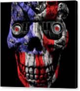 Patriotic Jeeper Cyborg No. 1 Canvas Print