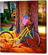 Patriotic Ride Canvas Print